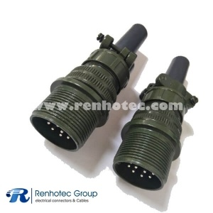 MS3101A18-1P CircularCable Connecting Receptacle Solder 10*16 Pin Industrial Connector