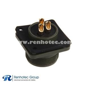 MS3102A16-10P Circular 3 Pin Size 16 Box Mount Receptacle 5015 Connector