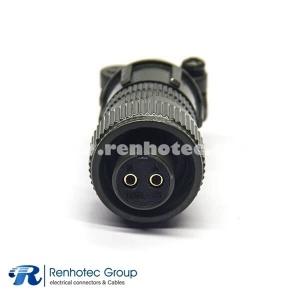 MS3106A10SL-4S Straight Female Plug 2 Pin Circular Power Connector