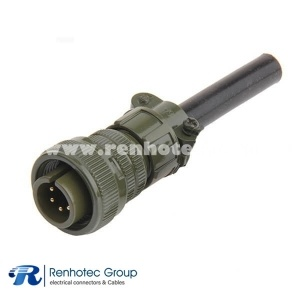 MS3106A14S-6P Straight 6 Pin *16 Amphenol Male Straight Plug Circular MIL Spec Connector