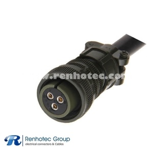 MS3106A16-10S DDK 3 Pin Cable Straight Plug Military Circular Connector