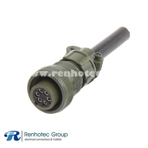 MS3106A18-12S Circular MIL Spec Connector 6P Straight Plug Connector