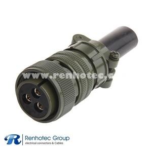 MS3106A20-19S Circular Plug Size 20 3 Position Cable Connector Circular Military Connector