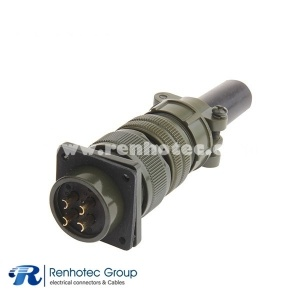 MS3106A20-4S 4 Contacts Solder Socket Circular Military Connector