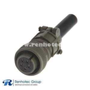 MS3106A22-12S Straight Plug 5 Contacts Solder Socket 22-12 5015 Military Connector