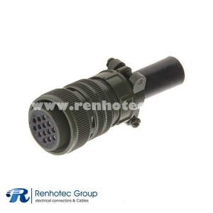 MS3106A22-19S Circular Connector Straight Plug 14 Position 14*16 Solder Socket Contac