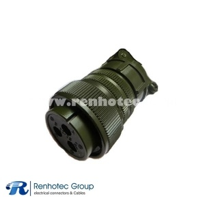 MS3106A22-2S DDK 3 Pin Cable Plug Military Circular Connector 3*8 Solder Socket Contact
