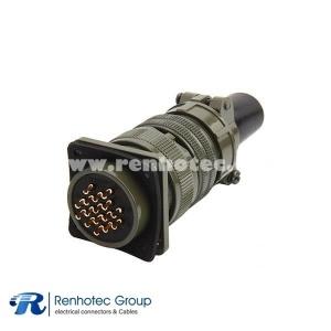MS3106A24-5S DDK 16 Pin Straight Plug Military Circular Connector