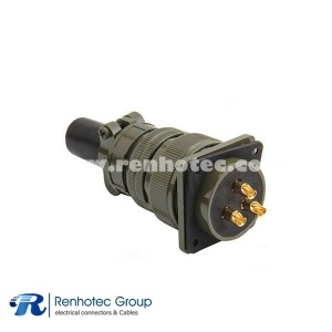 MS3106A28-3S Mil-5015 Type Female Straight Plug 3 POS Connector