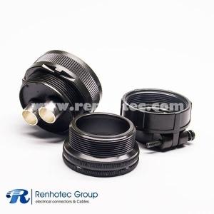 Amphenol MS3106A32-5S Connector Circular Straight Plug Socket 2Pin Solder Socket Contact