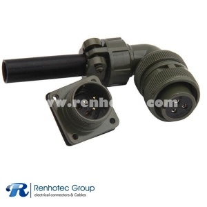 MS3108A16-10S Right Angle Plug 3 Contacts Connector for AWG12 Cable