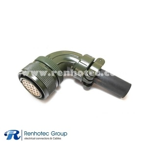 MS3108A22-14S Circular 19 Pin Solder Cable Aircraft Electrical Connector 19#16 Solder Socket Contact