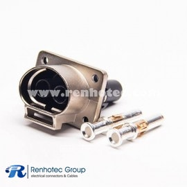 High Voltage Interlock Connector Metal Socket 16A/23A/35A 3.6mm Contact A  Key for Electric Vehicle system