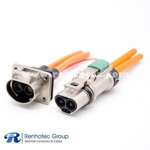 High Voltage 1Pin  Metal Plug&Socket 3.6mm 16A/23A/35A  A Key Straight