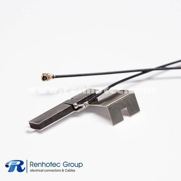 Best WIFI Directional Antenna 2.4G for TV with Black Coax Cable RF1.13 to IPEX Ⅰ