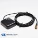 GPS Antenna SMA Plug Black GPS External Charging Pile with Coax Cable RG174