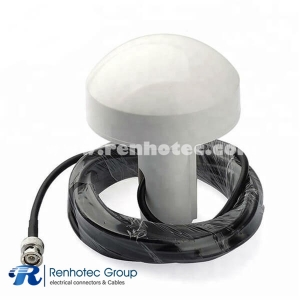 GPS Receiver Marine Mushroom Antenna with BNC Connector for Boat
