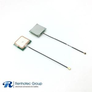 GNSS GPS antenna High Gain ceramic patch internal GPS GLONAS antenna 28dB 1575.42MHZ  IPX connector