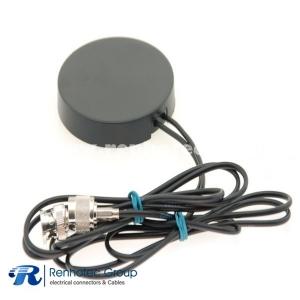 GPS GSM Combo Antenna Circular Shape Bracket with TNC BNC Male Plug Cable 1m