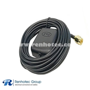 4G LTE GPS Antenna Combination Magnetic Base Sticky Short Circuit Protection 1575.42MHz