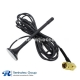 4G LTE Antenna Extension Cable Magnet antenna with SMA Male Right Angle 3m Cable
