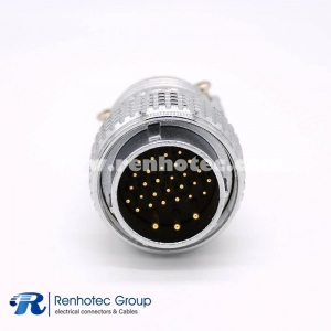 Connector 31 Pin Male Plug P28 Straight Solder Cup for Cable