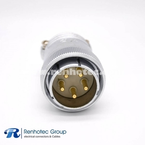 Male Plug P48 5 Pin Straight  Male Plug for Cable