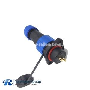 Aviation Plug Socket Waterproof Connector SP13 Standard Type 2 Hole Socket 2pin