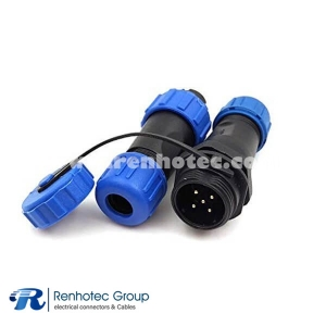 Weipu Docking Aviation Female Plug&Male Receptacles SP13-5 Cores Connector