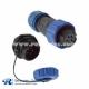 SP13 Series 5pin Female Plug &Male Socket back mount Rear-nut Mount