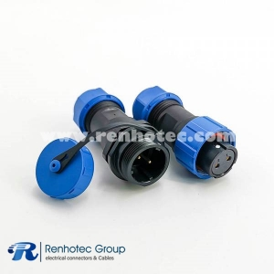 SP17 Series Connector Female Plug & Male Socket In-line SP17 2pin Connector