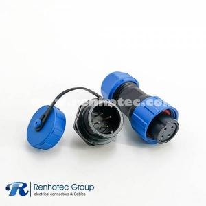 weipu SP17 Series 4pin Female Plug & Male Circular Socket Rear-nut Mount Panel Mount
