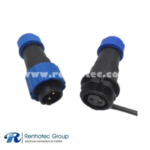 SP21 2pin Waterproof Connector Docking Aviation Female Plug&Male Receptacles