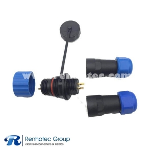 SP21 Waterproof 4pin Connector Male&Female WEIPU In-line Cable Connector