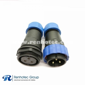 weipu SP29 3pin Straight Male Plug&Female Receptacles In-Line Type for Cable