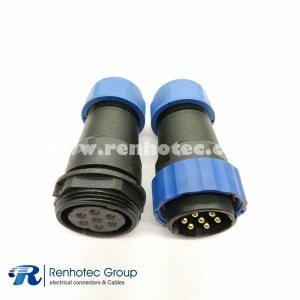 SP29 in line Type Aviation Connector 7pin Straight Male Plug&Female Receptacles