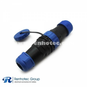 Waterproof Plug SP29 19pin Aviation Connector Straight Plug&Socket In-Line Type for Cable