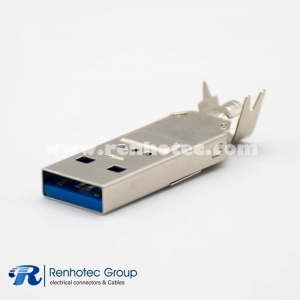 Type Faster A USB3.0 9 Pin Male for Cable Connector