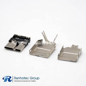 Male Micro USB Connector 3.0 for PCB Mount