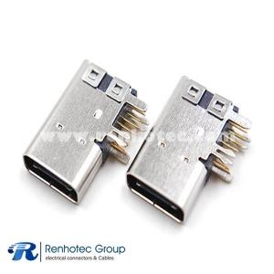 24p USB Type C Four Legs 24ways USB Connector
