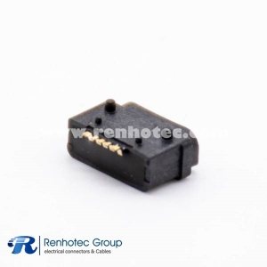 Waterproof MICRO USB port Type B Female Socket 5P IPX7 SMT plastic shell