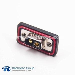 IP67 DB 2V2 Male D-Sub Contact Solder Cable Connectors