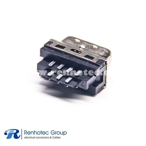SCSI Male HPCN 14 Pin Straight Solder Connector