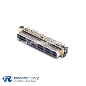 68PIN SCSI Connector HPDB Female Straight IDC for Cable Receptacle
