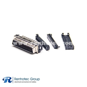 SCSI Connector Type HPDB 36 PIN Male Straight IDC for Cable Plug