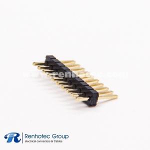 1.27 Pin Header Male Single Row 1×10PIN Connector Through Hole