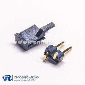 2.54mm Pin Header SMT Single Row Straight 2.5mm Plastic Height