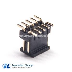 10 Pin Header Connector 180 Degree Dual Row 1.27PH  SMT