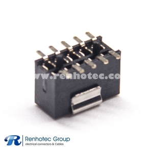 SMT Header Picth Female Dual Row 2×5 SMT 1.27mm Center Spacing