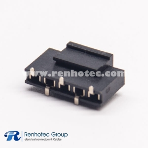 SMT Headers 2.54mm Female Straight 5 Pin Single Row for PCB Mount